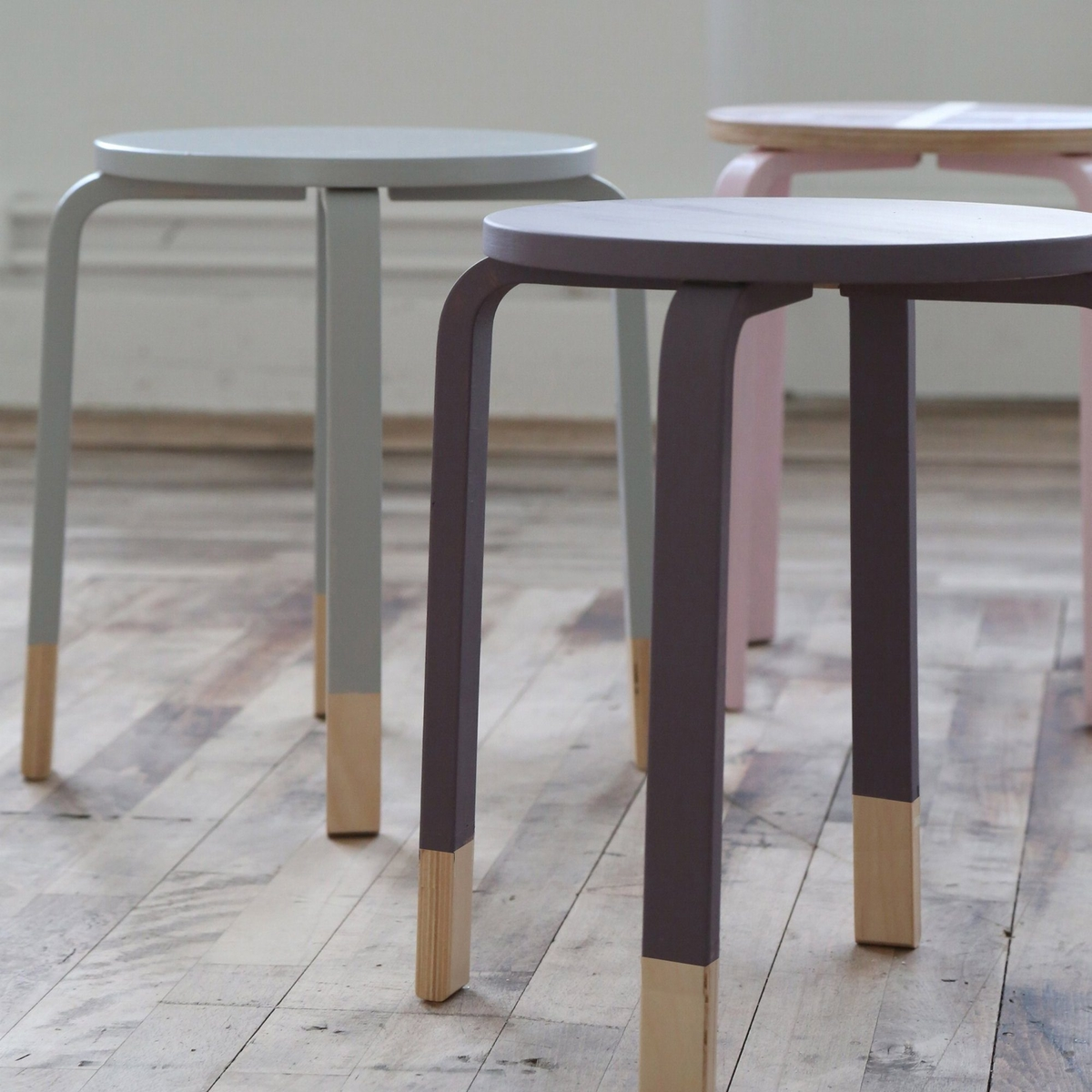 Give a stool a new look!