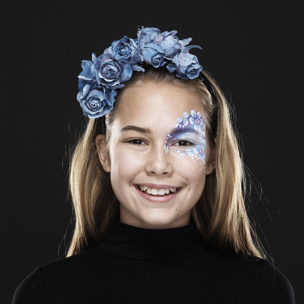Ansiktsmaling Flower