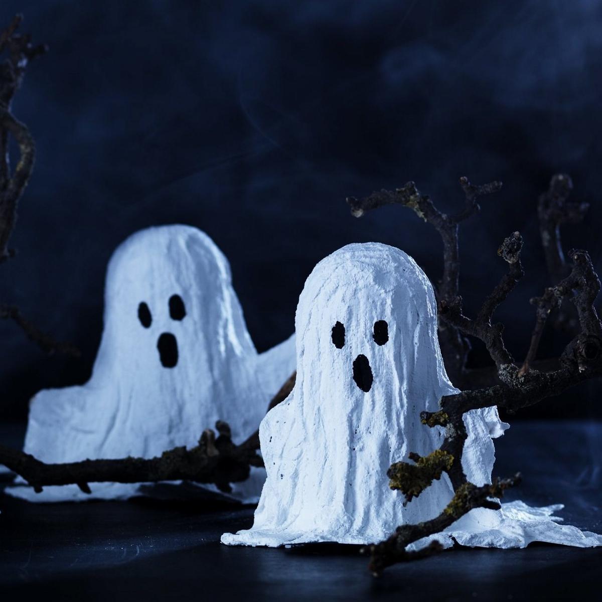 Spöken av gips