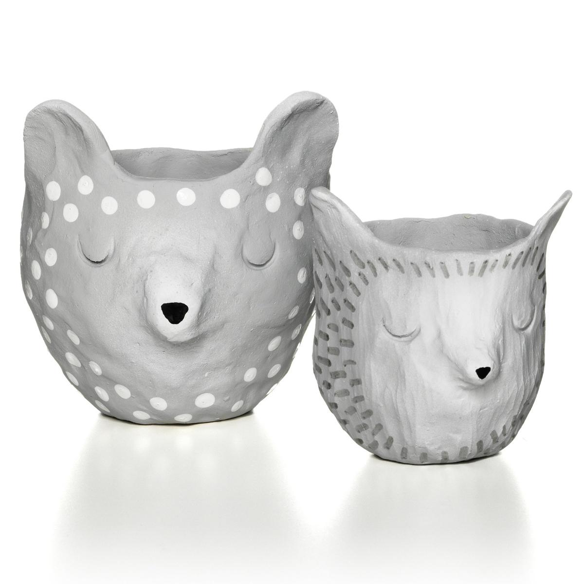 Søde krukker af keramikler
