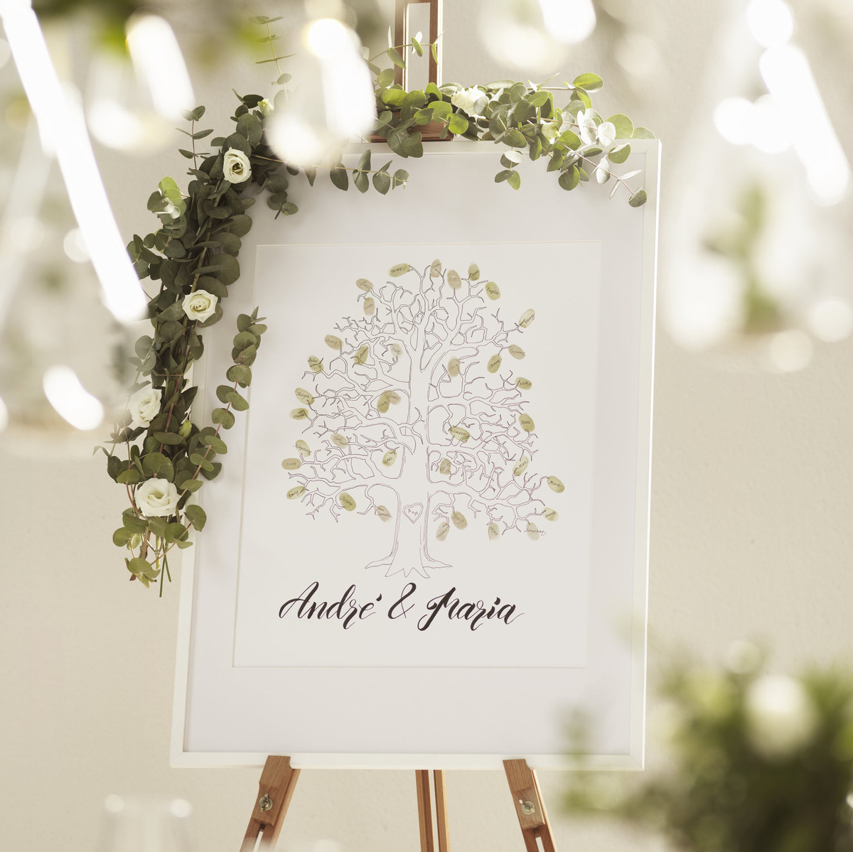 Minnestavla bröllop