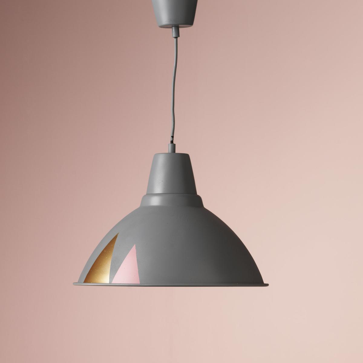 Spraymal en lampe