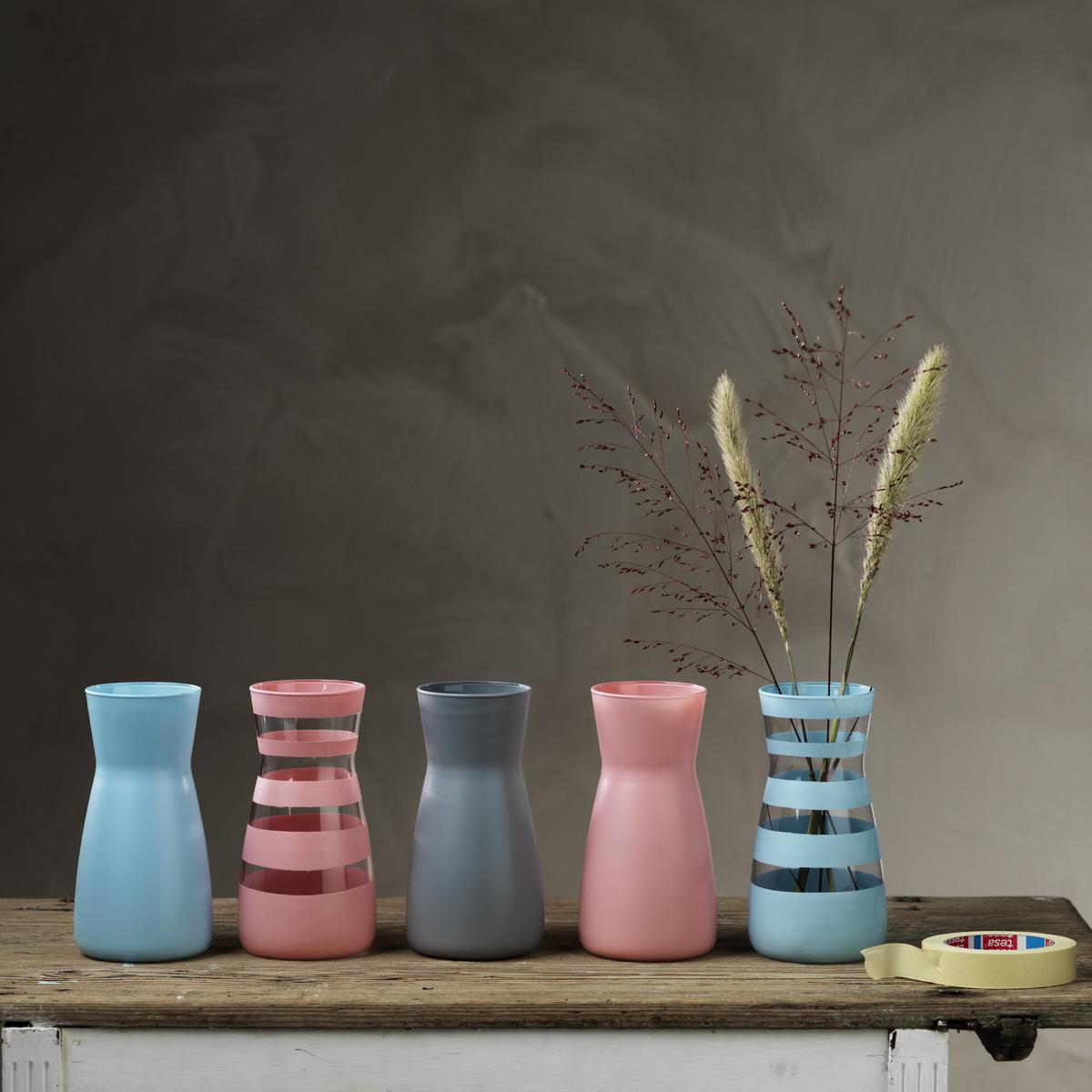 Spraymåla vaser