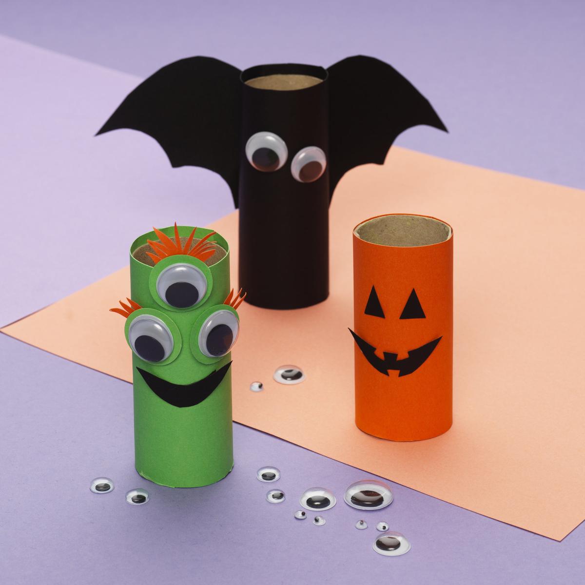 Sjove halloweenfigurer
