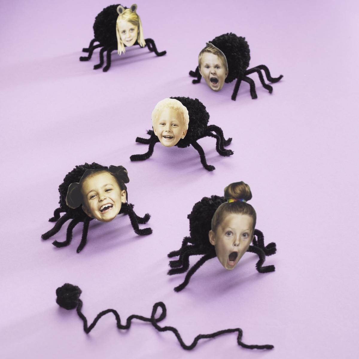 Söta spindlar