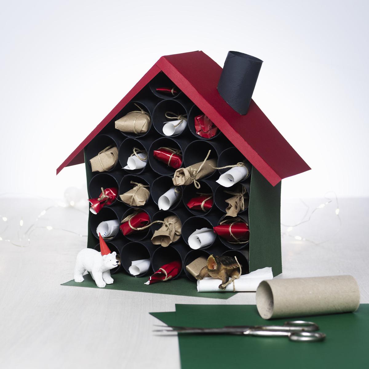 Bygg ett kalenderhus