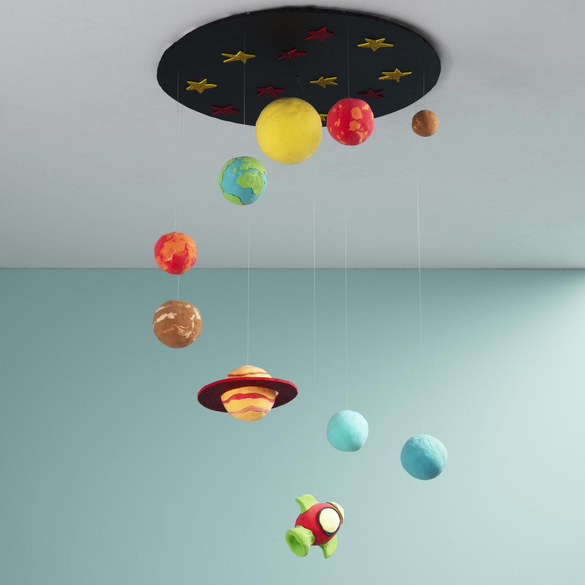 Clay solar system