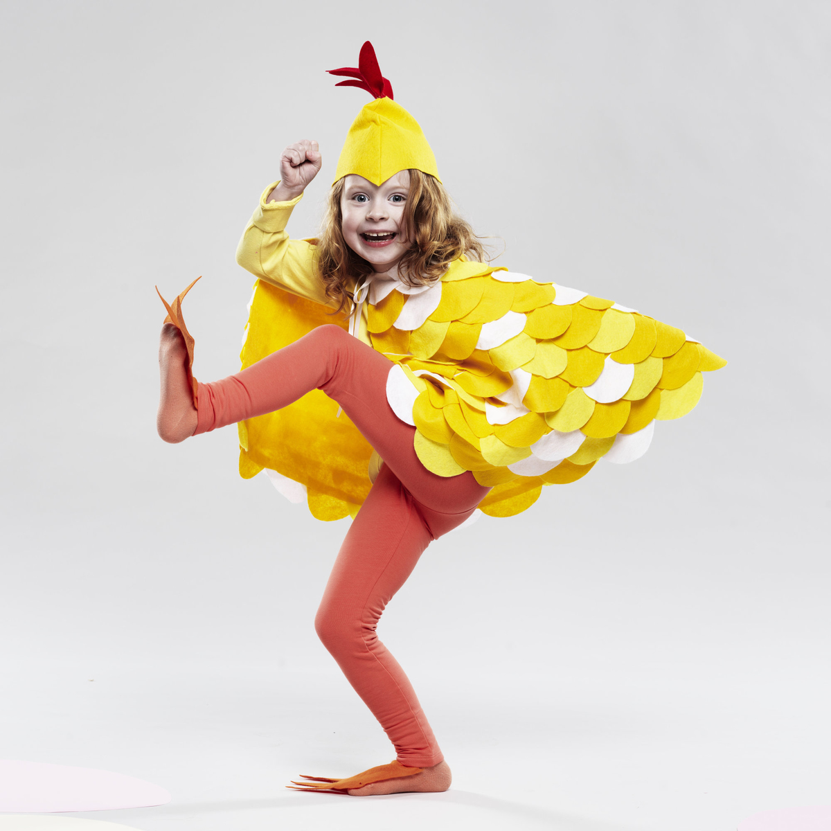 Sy en kycklingdräkt