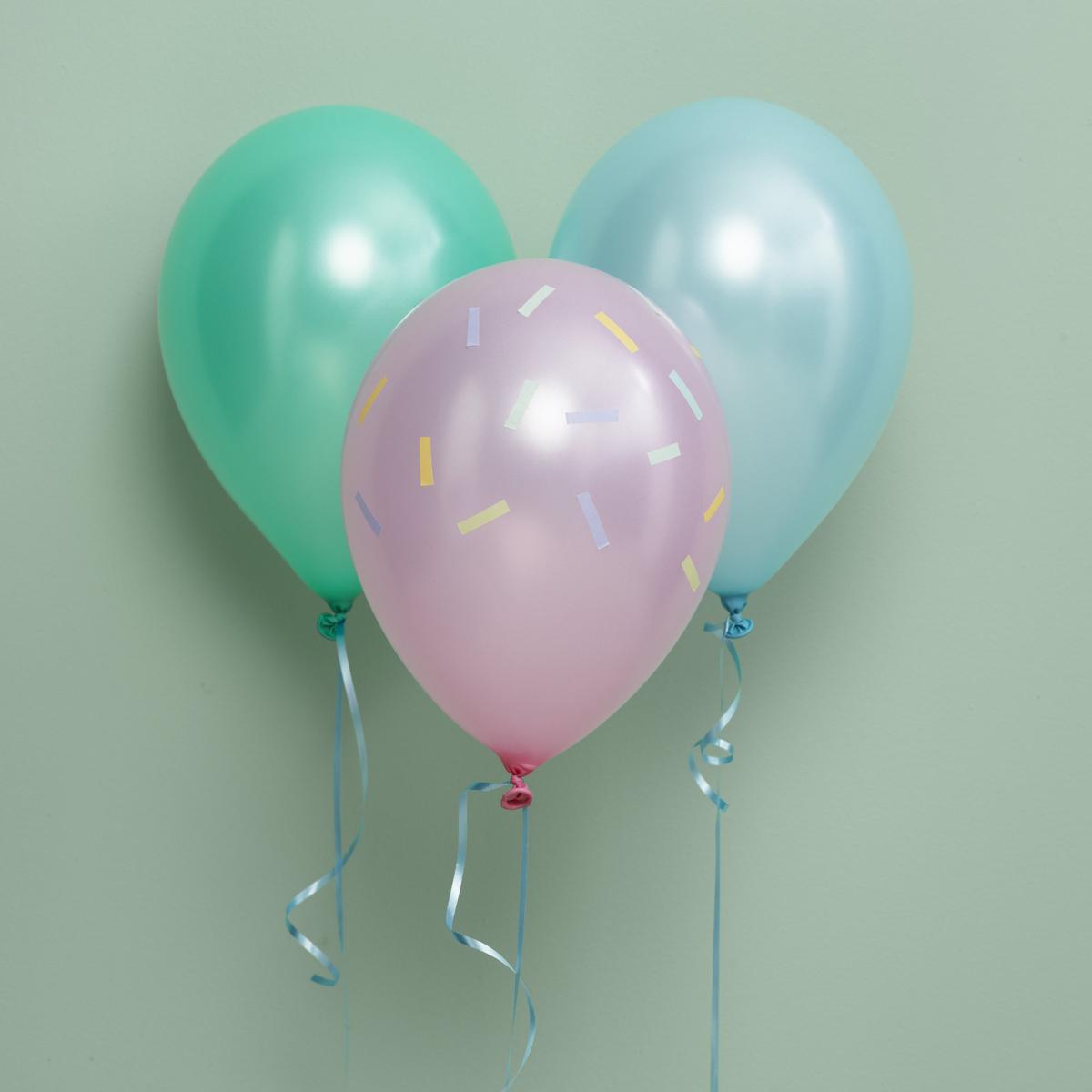 Pynt med festlige ballonger